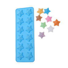 Brand New star Shaped Chocolate Mould Cake Tools Candy Mold Silicone Bakeware Cupcake Cake Topper D635(China)