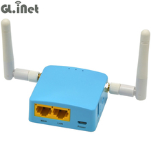 GL.iNet MTK7620A 802.11n 300Mbps Travel Wireless Mini WiFi Router External Antenna OPENWRT Firmware with MicroSD Slot 128MB RAM(China)