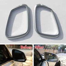 BBQ@FUKA Car Door Side Mirror Rearview Mirror Cover Styling Sticker Fit For 2013-16 BMW 3 Series F30 F35 316li 318li 320li 328i