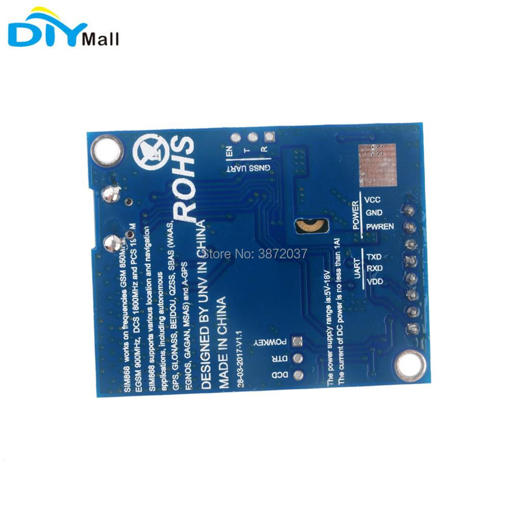 FZ2847-4-SIM868 Development Board GSM GPRS GPS BT Module