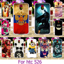Soft TPU Plastic Phone Case For HTC 526g 526 Painted Case For HTC Desire 526 326 526G 4.7 inch 526G+ 326G Case Cover Housing