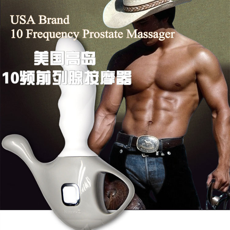 USA  brand,10 Frequency Prostate Massager Male Masturbators Anal Plug G-spot Prostate Massage Device,Sex Toys for men butt plug<br><br>Aliexpress
