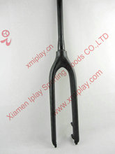 FK-023 9mm QR rigid fork mtb carbon,29er carbon fork,carbon mtb fork(China)