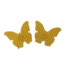 Buy Women Butterfly Shape Nipple Cover Sexy Self Adhesive Pasties Breast Petals Invisible Stickers Sequins Bra Pads Nipple Covers