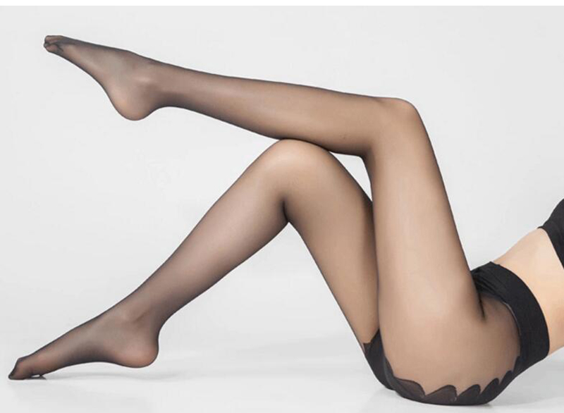 Sexy Stockings, Thin Tights High Elastic Women's Lingerie, Nylon Pantyhose Long Thigh 19