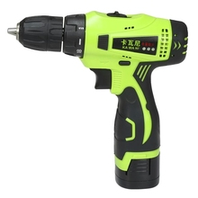 16.8v Two Speed Rechargeable Lithium Battery Household mini Hand Cordless Drill bit driver Electric screwdriver power tool part