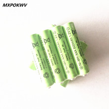 4pcs 1.2V 600Mah NiMH AAA battery 1.2v toy car battery rechargeable NIMH AAA batteries for child toy 600mah wholesale