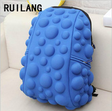 RUILANG New Trending Women 3D Bubble Backpack Designer Girl Shool Bag Casual Travel Shopping Backpack All-match Cute Fashion Bag