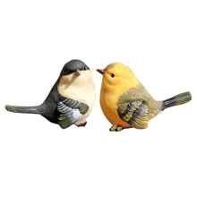 ABWE Best Sale A pair of birds Rural Style House Decoration(China)
