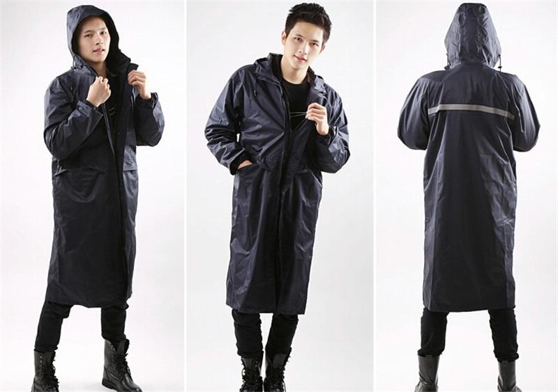 Raincoat Men Long Rain Coat Jacket,Rain Pants,Large Size,Slicker,Rain Suit,Waterproof,Outdoor Raingear,Thicken Lined