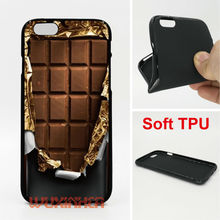 Cover chocolate Phone Cases Soft TPU For iPhone 6 7 Plus SE 5S 4 Touch 6 For Samsung S8 Plus S7 S6 Edge S5 Note 5 2016 J3 J5 A5(China)