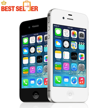 100% Original Unlocked Apple iPhone 4S IOS 1080P Dual Core 8MP WIFI WCDMA Mobile phone time-limited Promotion!