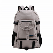Mobile phone laptop backpack men travel school bags canvas designer Arcuate Shoulder Strap Backpack zipper casual Letter bags(China)