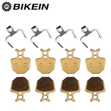 BIKEIN - 4 Pairs Mountain Bike Bicycle Hydraulic Disc Brake Pads For Formula ORO K18/K24/PURO Giant DA6/DA8 Metallic Brake Shoes(China)