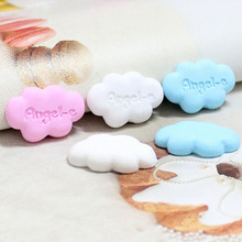 3D Cloud Resin Craft Lovely flatback Scrapbooking DIY Embellishment For Phone 3D Resin Cloud Miniatures 10pcs/lot