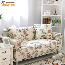 Hot sale Furniture all-inclusive sofa slipcover elastic 100% Polyester sofa cover Single/Two/Three/Four-seater easy installation(China)