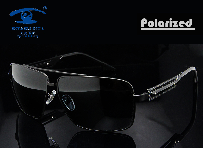 New Summer Style High Quality Stainless Steel Sunglasses Polarized Sun Glasses Men Outdoors Sports Man Vintage Oversized Oculos<br><br>Aliexpress