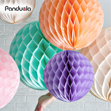 "paper lantern Mix Size 6"" 8"" 10"" Paper Honeycomb Ball lanterne chinoise Birthday Party Wedding Decorations lanterne papier(China)"
