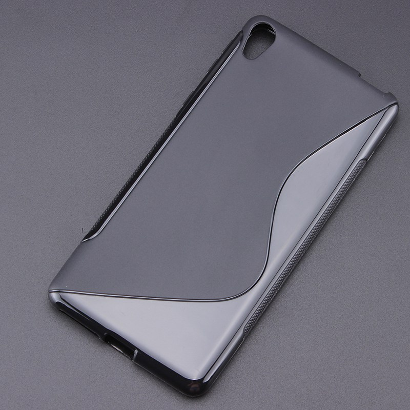 Xperia E5 8 Color S-Line Anti Skidding Gel TPU Slim Soft Case Back Cover Sony Xperia E5 F3311 Phone Rubber silicone Bag