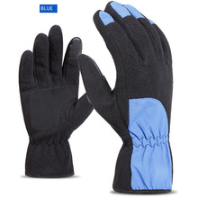 Cycling Gloves Full Finger Winter Men And Women Warm Touch Screen Plus Cashmere Thick For Skiing Or Riding(China)