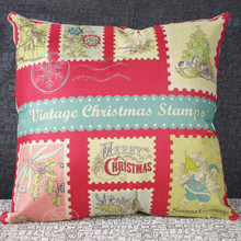 New fashion Christmas pillow, office nap cushion, sofa lumbar pillow, no core support mixed batch of 45 * 45cm