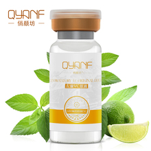 QYF Puro Vitamina C Essence Seume Face Care Whitening Firming Wrinkle Lifting Skin Acne Treatment Black Head Female Moisturizing(China)