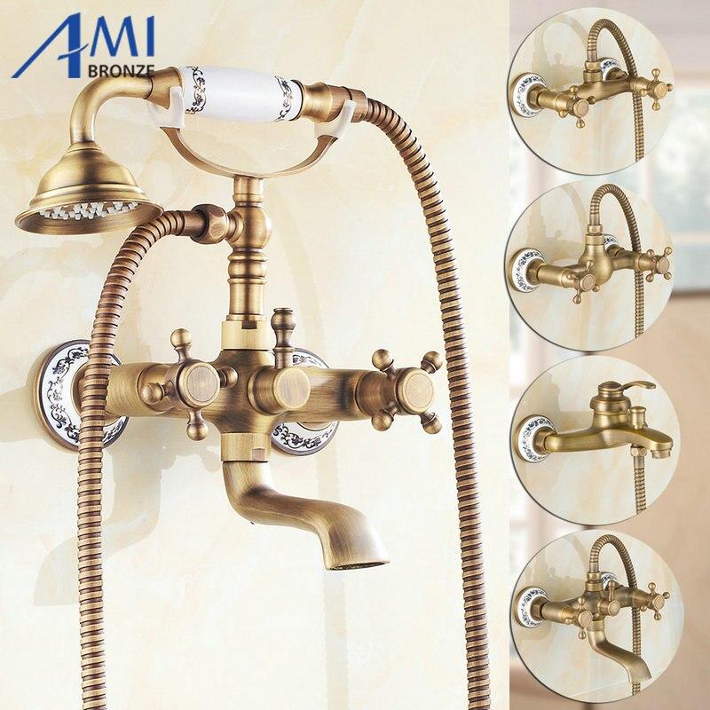 Bathroom faucet sets