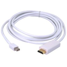 Mini Port Image to HDMI Adapter Cable White - Soporta Audio For Apple iMac - 3 M Long(China)