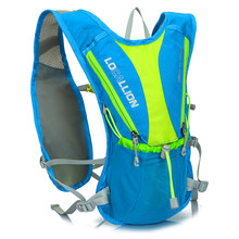 5L Light Bicycle Portable Backpack Ventilate Cycling Climbing Travel Running Backpack Mini Outdoor Sports Water Bags Bike Hiking(China)