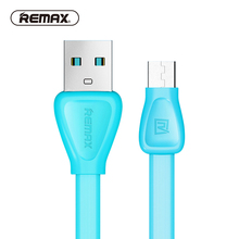 REMAX Martin Colorful Micro USB Data cable PVC Flat Charging sync Data Transfer data cable for xiaomi/sony/samsung/HTC