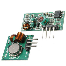RF Wireless Receiver Module & Transmitter Module Board for Arduino Super Regeneration 315/433MHZ DC5V (ASK /OOK) 1pair