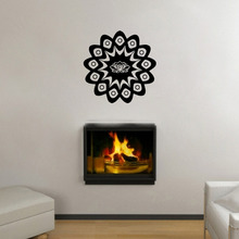 The Wall Sticker For Living Room Bedroom Home Decor Indian Mysterious Mandala Flower Indian Wall Stickers Yoga muursticker