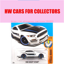 2017 Hot 1:64 Car wheels White Ford Shelby GT350R Metal Diecast Cars Collection Kids Toys Vehicle For Children Juguetes