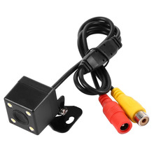 SJX-0044 Night Vision Camera Wireless Receiver And Transmitter Waterproof Wide Angle Reverse Backup Auto Rear View Camera(China)