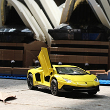 1:32 A variety of styles Lamborghin Aventador Die-cast metal simulation Alloy car model Children's toys ornaments(China)