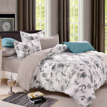 Sookie Queen Size Bedding Sets Pastoral Bird Printed Floral King Size Duvet Cover Set Pillowcases Comforter Cover Bed Linen