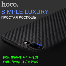 HOCO Original Protective Case for iPhone 7 8 / 7 8 Plus Carbon Fiber Patern Ultra Thin Slim Cover Stylish Premium Luxury Shell(Hong Kong)