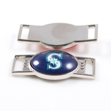 2017 New Seattle Mariners Team Shoelace Charms MLB Sneakers Shoelace Accessories For Baseball Fans Jewelry