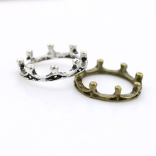 Europe And The United States Fashion Personality Tide People Ring Vintage Ring Cute Crown Female Ring Jewelry Wholesale