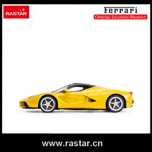 Rastar Licensed Ferrari LaFerrari Hot children car toys 1:14 scale USB charge electric radio control car nice packaging 50160