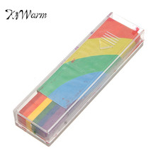 KiWarm On Sale Face Body Paint Sticks Rainbow Body Crayon Set UV Reactive Colour Halloween Makeup Painting Pen Washable Crayons(China)