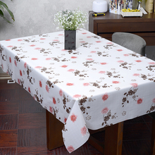 Hot sale plastic table cloth PVC oil-proof tablecloths waterproof  tablecloth wedding party home table covers nappe plastique