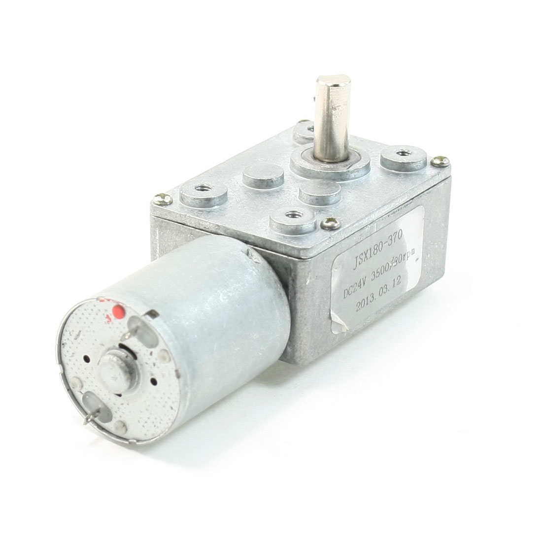 UXCELL 24V 3500/20Rpm Rectangle Shape Gear Box 2 Terminal Electric Geared Motor<br><br>Aliexpress