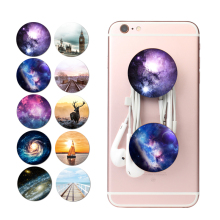Fashion Phone Holder Expanding Stand Grip Tablet Mobile Finger pop Holder Socket Mount For Apple Xiaomi Phone Ring