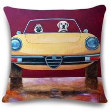Manufacturers New Design Selling Vintage Truck Car Cotton Coat Cushion Home Decor Sofa Car Seat Waist Pillow