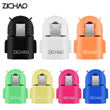 ZJCHAO Android Robot Shape Micro USB OTG Adapter Converter For Samsung S3 S4 S5 Smartphone Tablet MP3 MP4 PC Mouse Keyboard