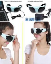 HOT! USB DC Eye massage device eye massage instrument eye protection instrument Go black eye Anti myopia 3 types of power supply