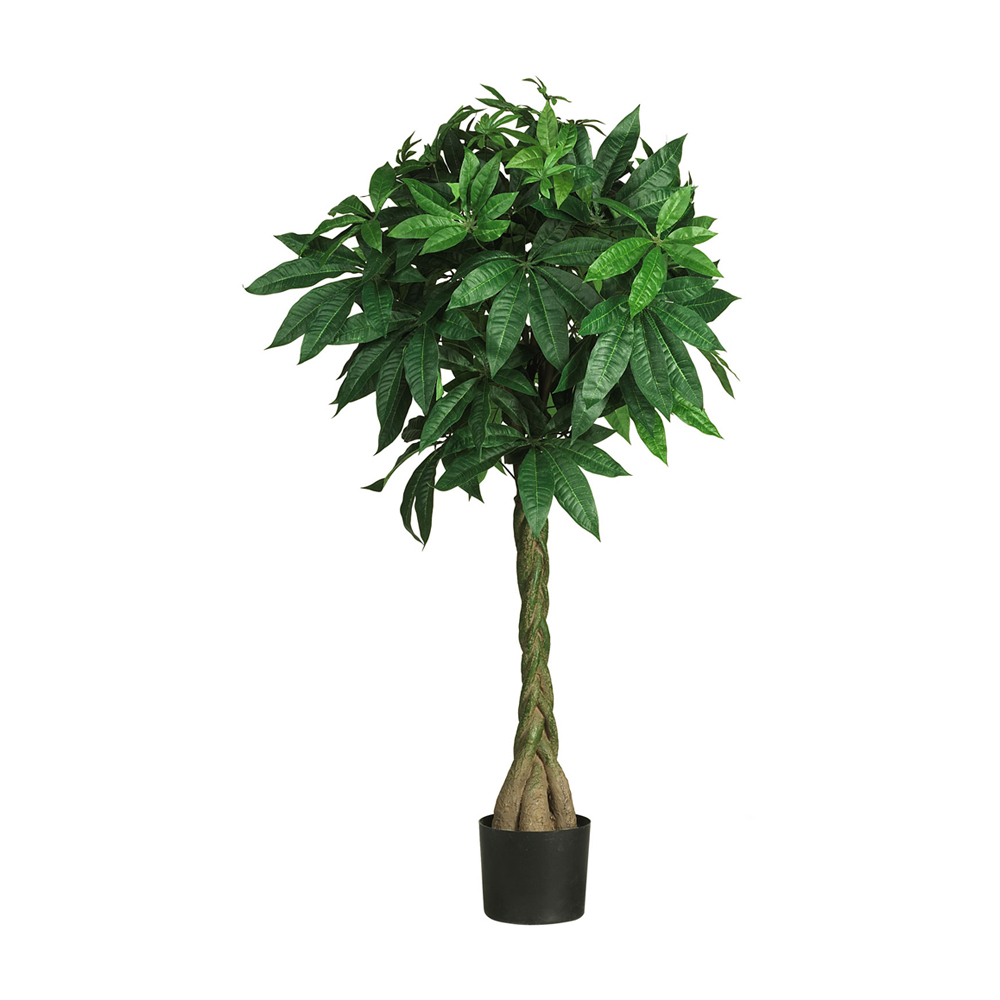 Nearly Natural 51 Money Silk Tree - Green
