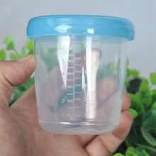 1pcs Baby Milk Powder Box Safety Storage Box Container Product Portable Milk Powder Tank Baby Food Storage(China)