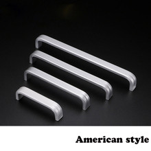 FGHGF 1 PC Aluminum Alloy Handle Cabinet Doors Drawer Wardrobe Handles Furniture Hardware Door Pull Knobs 64mm~160mm